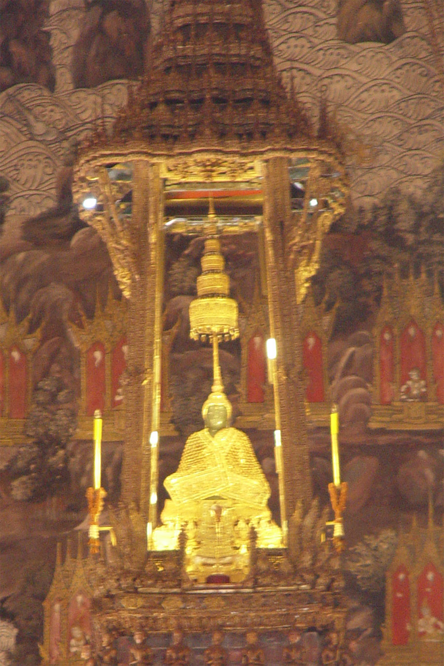 Picture of the Emerald Buddha from Bangkok