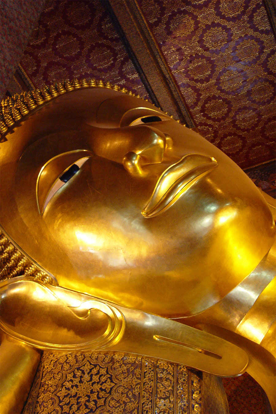 Picture of Reclining Buddha's Face