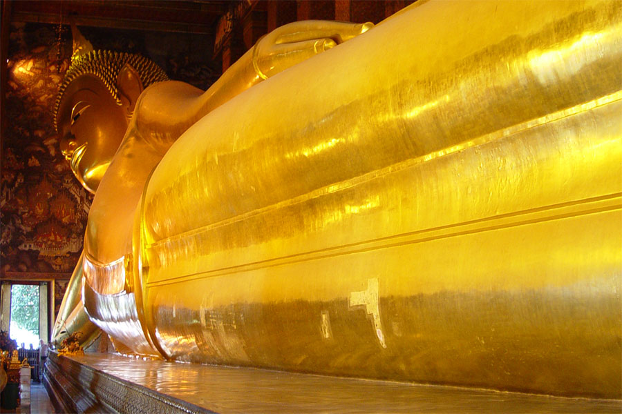 Picture of Bangkok's Reclining Buddha